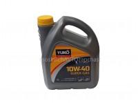 Масло моторное 10W-40 полусинтетическое (4л) YUKO SUPER GAS