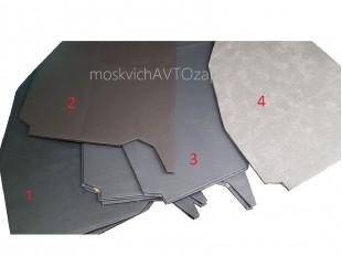 Обивка передней части боковины Москвич 412, комплект