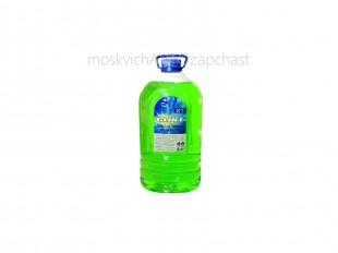 Жидкость омывателя стекол (-20) 000017776 GLINT 5 л (зеленое яблоко)