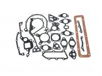 Комплект прокладок двигателя Москвич 412 неполный (паронит, пробка)