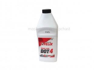 Жидкость тормозная DOT-4 (910г) FELIX