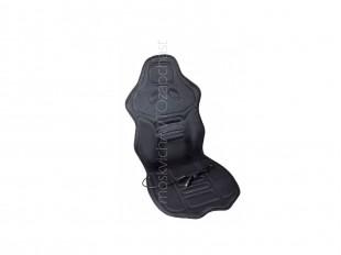 Накидка на сиденье с подогревом, черная с подголовником 60 Вт/12 В LA 140402BK