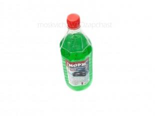 Жидкость омывателя стекол Морж 1л (-20) (зеленое яблоко)