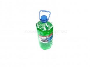 Жидкость омывателя стекол Морж 4л (-20) (зеленое яблоко)