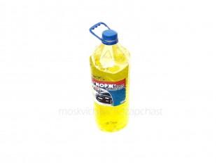 Жидкость омывателя стекол Морж 4л (-20) (лимон)
