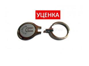 Брелок для ключей Москвич хром уценка