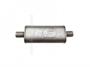 Резонатор Москвич 2141 Polmostrow алюминизированный